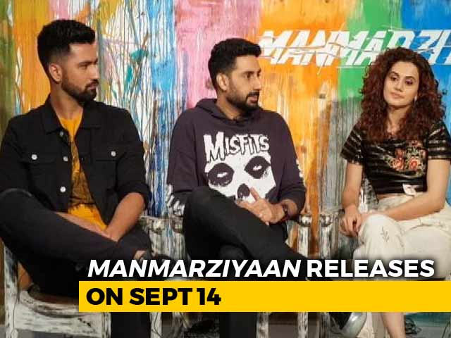 Video : Taapsee, Abhishek & Vicky On <i>Manmarziyaan</i>