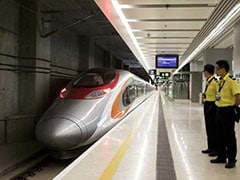 Hong Kong Launches High-Speed Rail Link To China Amid Controversy