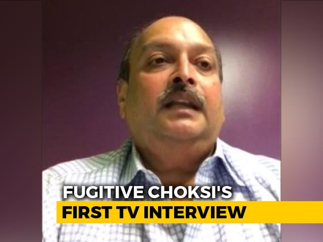 "Video : Mehul Choksi Speaks From Antigua Hideout: ""Properties Seized Illegally"""