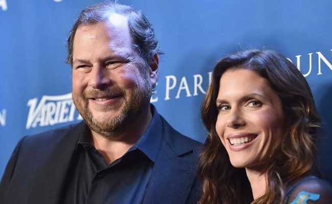 Time Magazine Bought By Salesforce Boss Marc Benioff, Wife