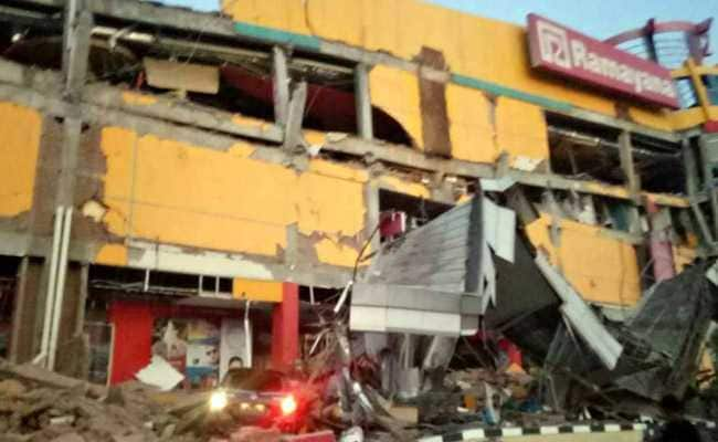'Many' Buildings Collapse After 7.5 Magnitude Earthquake Hits Indonesia