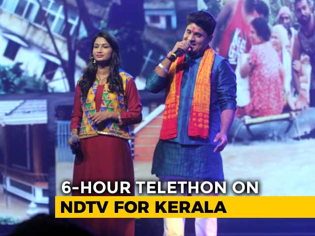 Video: Jeete Hain Chal, A Soulful Melody By Nitin Kumar And Renu Nagar At #IndiaForKerala Telethon