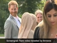 Viral Video: Prince Harry Sneaks A Samosa Out Of Meghan Markle's Charity Event