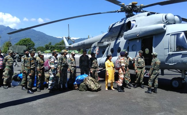 In Sikkim, Over 350 Stranded In Heavy Rain And Landslides Rescued
