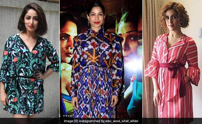 Freida Pinto, Yami Gautam And Sanya Malhotra Paint The Town Printed