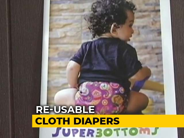 Video : Meet A 'Supermom', Who Decided To Make Eco-Friendly Diapers
