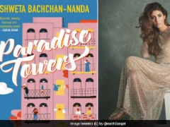 Shweta Bachchan Shares First Look Of Her Debut Novel <I>Paradise Towers</I>. Book To Be Launched On Amitabh Bachchan's 76th Birthday