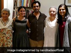 Nandita Das' <I>Manto</I>: Writer's Daughters Attend Screening Of Biopic In India. See Pics