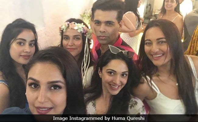 Inside Neha Dhupia's Star-Studded Baby Shower Celebrations With Karan Johar, Janhvi Kapoor And Others