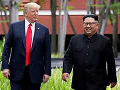 """We Fell In Love"": Trump's Latest On 'Bromance' With Kim Jong Un"