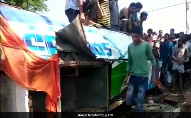 Five killed, 50 Injured In Road Accident In Amroha In Uttar Pradesh