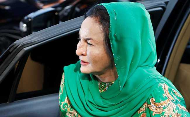 Malaysia's Former First Lady Questioned For 13 Hours In 1MDB Graft Case
