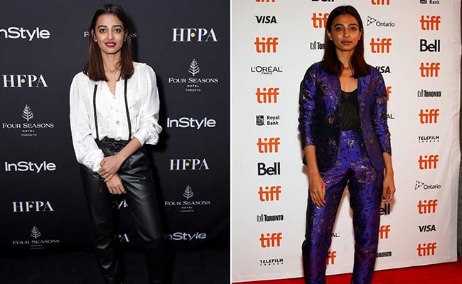 TIFF 2018: Radhika Apte Is Fabulously Fierce In 3 Looks
