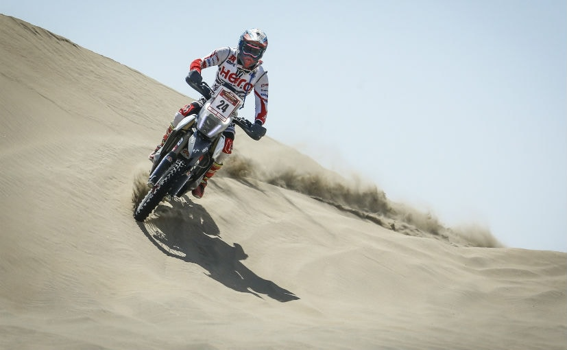 Hero MotoSports' CS Santosh Finishes Peru Desafio Inca Rally In 14th Place
