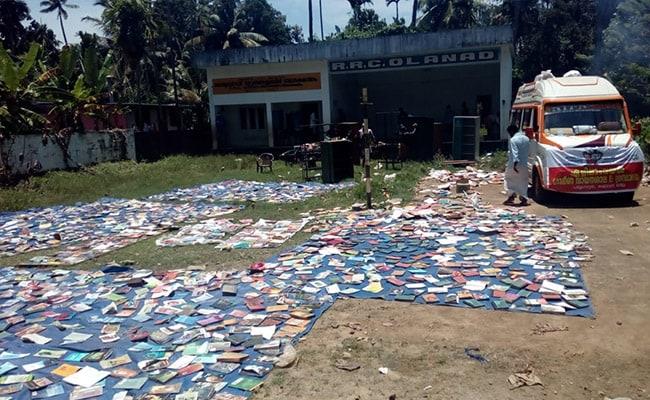 Kerala Floods, Floods, Public Libraries, Damaged Public Libraries, Kerala Public Libraries, Pictures