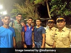 Navy Sailors Save Man From Drowning Near Mumbai's Marine Drive