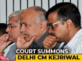 Video: In Bureaucrat's Assault, Arvind Kejriwal, AAP Lawmakers Summoned By Court
