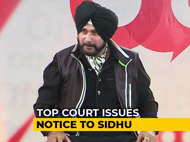 Video : Navjot Sidhu May Face Jail In 1998 Road Rage Case, Top Court To Decide