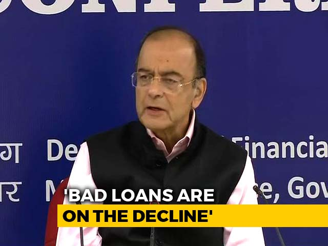 Video : State-Run Banks' Bad Debts On A Decline, Pick-Up In Loan Recovery: Arun Jaitley