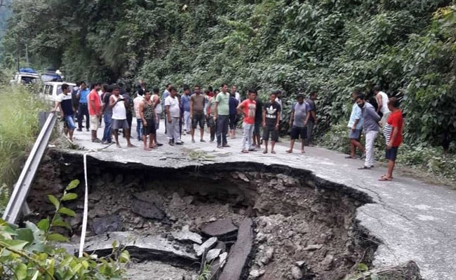 Landslides have occurred at Dzongu, Mangan, Lachen and Mangshilla in Sikkim