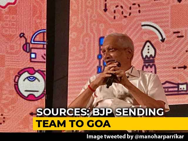 "Video : BJP To ""Explore Alternatives"" In Goa After Manohar Parrikar Call: Sources"