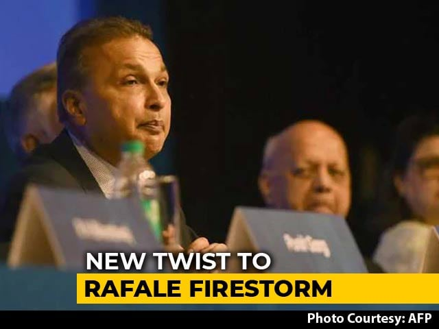 Video : Why We Chose Anil Ambani's Firm Despite Massive Debt: Dassault Sources