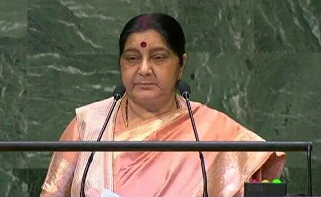Talks With Pak Failed Due To Their Actions, Says Sushma Swaraj At UN: Highlights