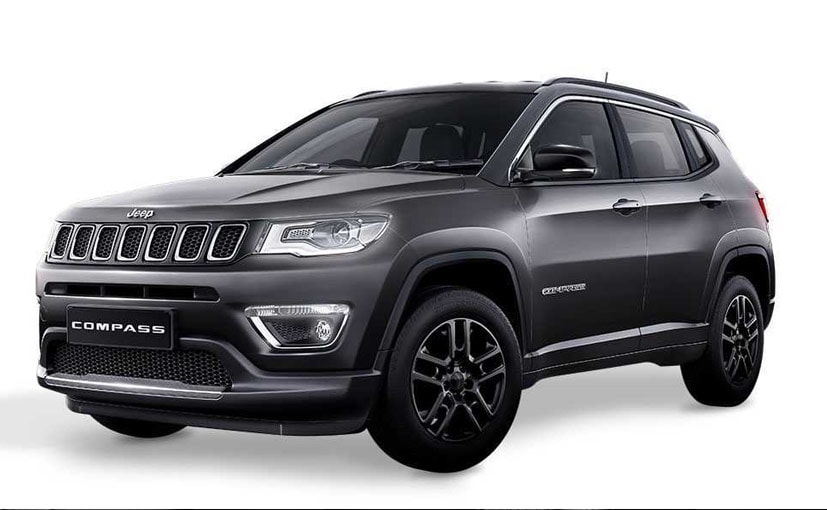 Jeep Compass Black Pack Edition Launched In India; Priced At &#8377 20.59 lakh