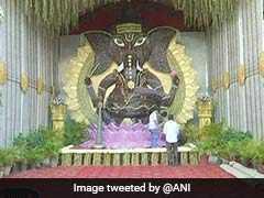"This Ganesh Chaturthi, Devotees Go Eco-Friendly With ""Sugarcane Ganesha"""