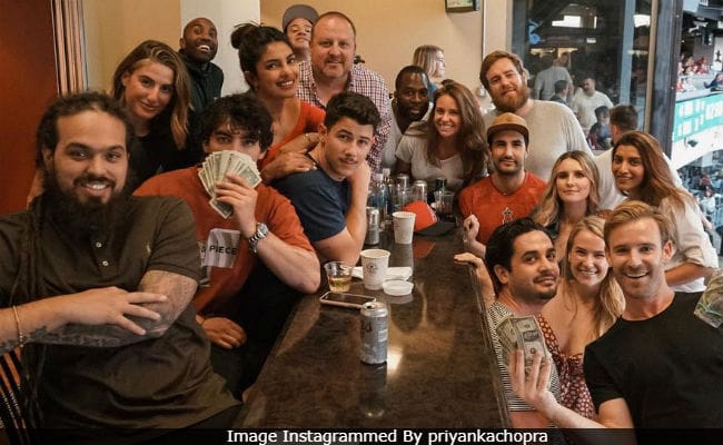 Priyanka Chopra Celebrates Nick Jonas' Birthday In California. Pic Here