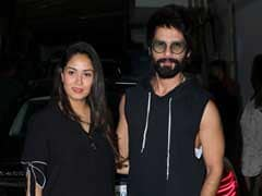 Mira Rajput Makes First Public Appearance After Zain's Birth At Shahid Kapoor's Film Premiere
