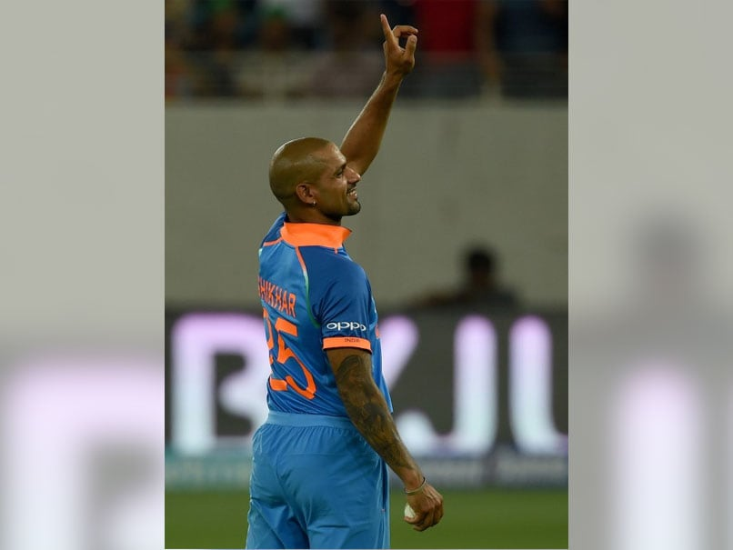 Shikhar Dhawan Joins Illustrious List With This Unique Record