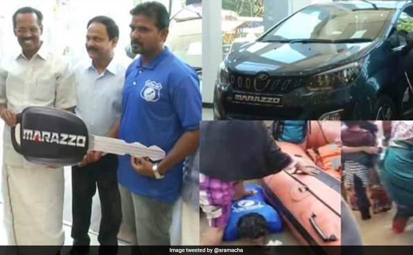 In a tweet by Sundar Ramachandran, Anand Mahindra was thanked for the kind gesture.