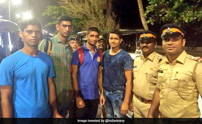 Navy Sailors Save Man From Drowning Near Mumbai's Marine Drive