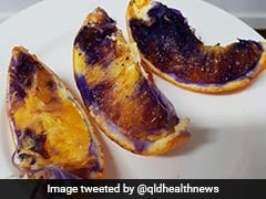The Mystery Of The Orange That Turned Purple Has Finally Been Solved