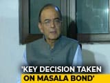 "Video : ""Restrictions On Masala Bonds Removed"": Arun Jaitley Reveals Steps To Contain Rupee, Trade Gap"