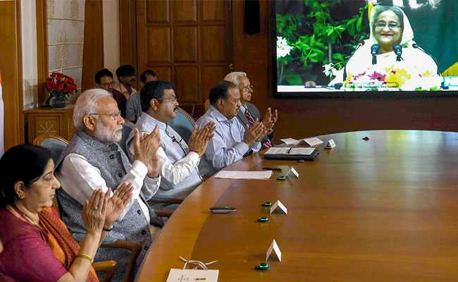 PM Modi, Sheikh Hasina Inaugurate Pipeline Project On Video Conference