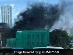 Short-Circuit Triggers Fire At Mumbai's Kamala Mills Compound
