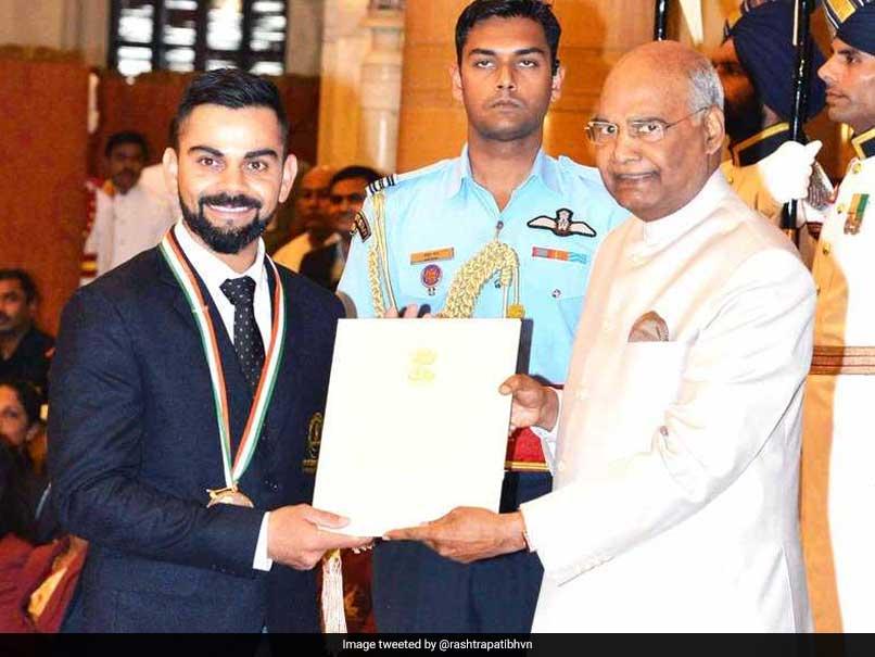 Kohli, Chanu Conferred Khel Ratna; Neeraj, Hima Get Arjuna Award