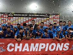 Asia Cup: India