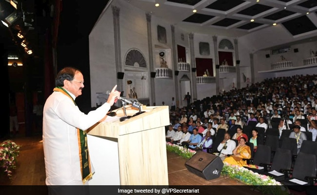 Revamp Higher Education To Meet Contemporary Needs: Venkaiah Naidu