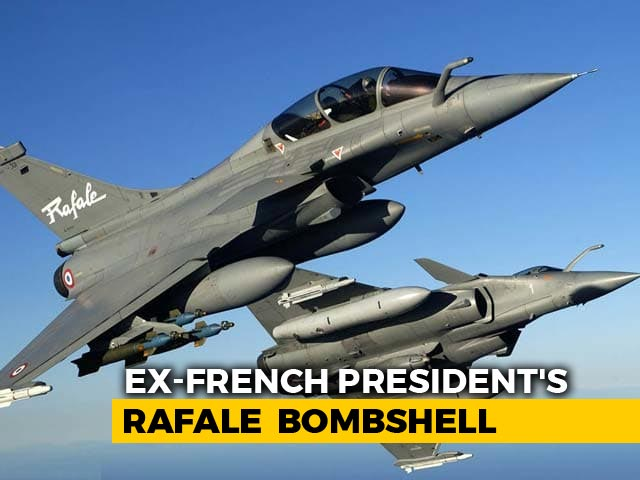 Video : India Government Chose Anil Ambani For Rafale, Says Francois Hollande
