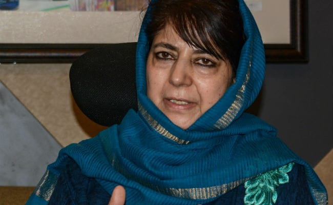 Mehbooba Mufti Appeals For Dialogue With Pak As She Meets Rajnath Singh