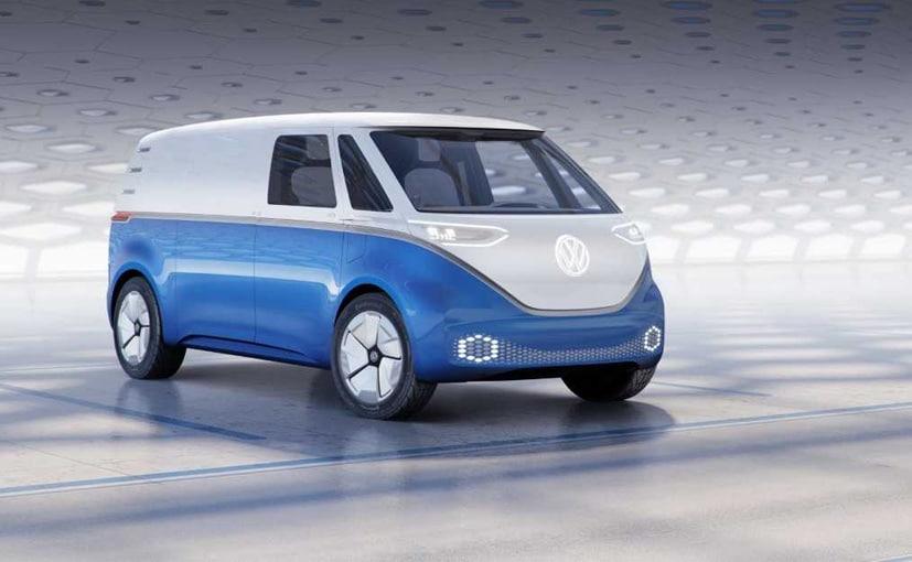 The VW I.D Buzz Cargo achieves a range of about 330 to over 500 km on a single charge