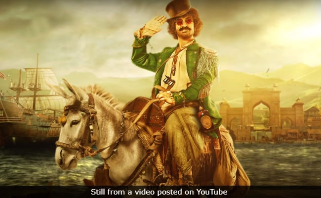 Meet Aamir Khan As Firangi, The 'Honest' Thug. Yeah, Right