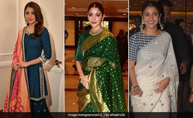 75abea819e From a chikankaari suit to a Benarasi saree, she has been wearing a range  of Indian clothes, giving us some major style goals to chase