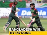 Video : Asia Cup 2018: Centurion Mushfiqur Rahim Helps Bangladesh Thump Sri Lanka