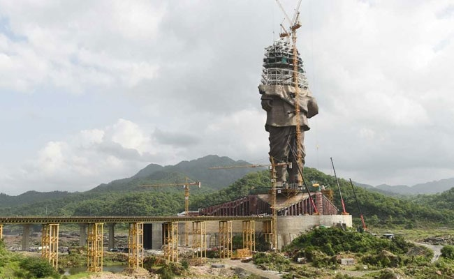 Ahmed Patel Can't See Indian-Ness In Statue Of Unity: Gujarat Leader