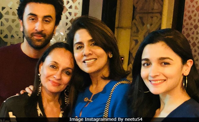 1e02e802d1 One Guess Who Popped Up In Ranbir Kapoor's Birthday Post From Mom Neetu