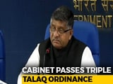 "Video : Executive Order On Triple Talaq A ""Compelling Necessity"", Says Government"